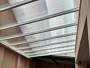 Cobertura garagem residencial
