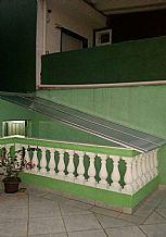 Cobertura Policarbonato acesso escada
