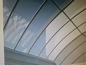 vista interna cobertura policarbonato automatica