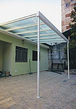 Foto Cobertura Policarbonato Garagem