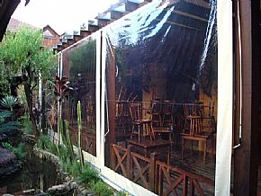Cortina Retrátil Restaurante