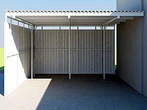 Projeto Cobertura Garagem