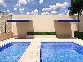 projeto cobertura piscina