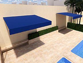projeto toldo piscina